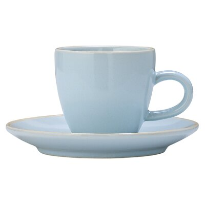 Bloomingville Olivia Espresso Cup and Saucer Set