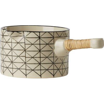 Bloomingville Julie 14cm Stoneware Serving Pot in White