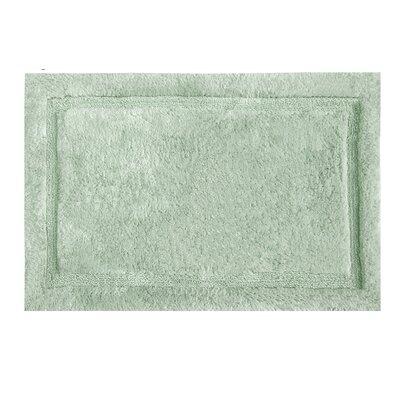 """Asheville Organic Cotton Bath Rug Color: Sage, Size: 17"""" W x 24"""" L"""