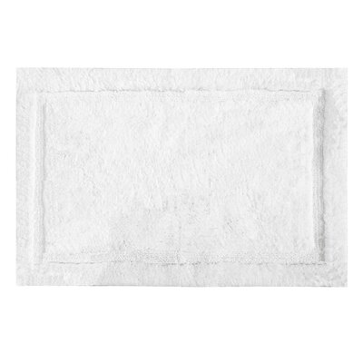 "Asheville Organic Cotton Bath Rug Color: White, Size: 24"" W x 60'' L"