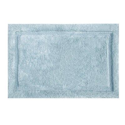 """Asheville Organic Cotton Bath Rug Color: Denim Blue, Size: 17"""" W x 24"""" L"""