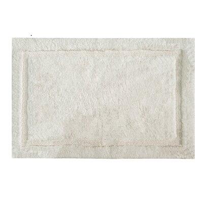 """Asheville Organic Cotton Bath Rug Color: Ivory, Size: 17"""" W x 24"""" L"""
