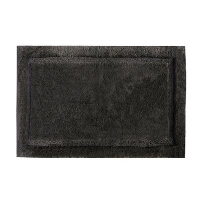 "Asheville Organic Cotton Bath Rug Size: 17"" W x 24"" L, Color: Slate Gray"