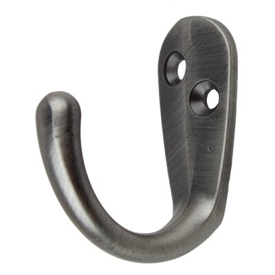 Small Robe Coat Hook Finish: Satin Pewter