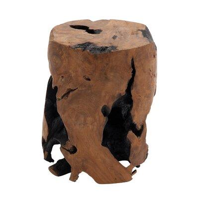 Teak Wood Round Stool