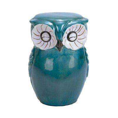 Ceramic Owl Stool