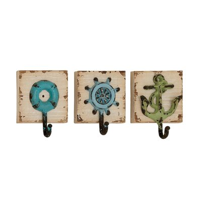 3 Piece Wall Hook Set