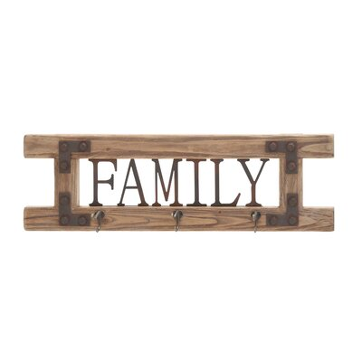 Cole & Grey Family Wall Hook