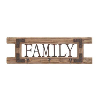 Family Wall Hook