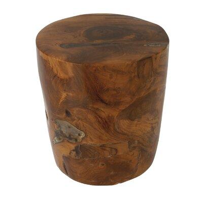 Teak Wood and Resin Stool