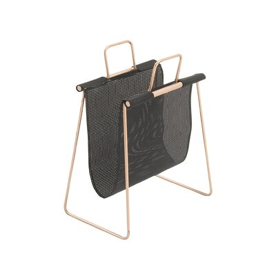 Metal and PVC Magazine Holder