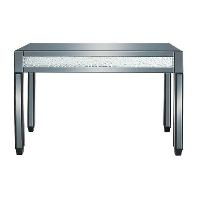 Console Table With Mirrored Panels