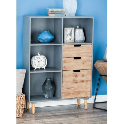 Storage Shelf 3 Drawer Accent Chest