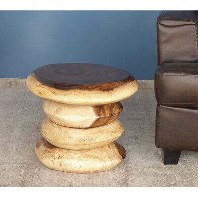 Suar Wood Accent Stool