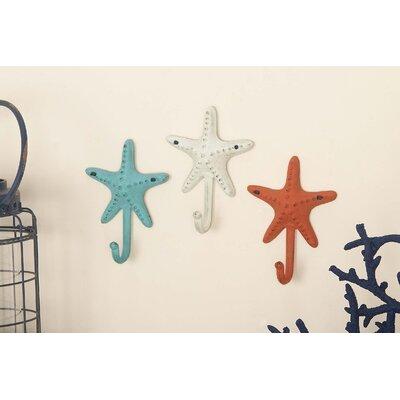 Starfish Wall Mounted Coat Rack