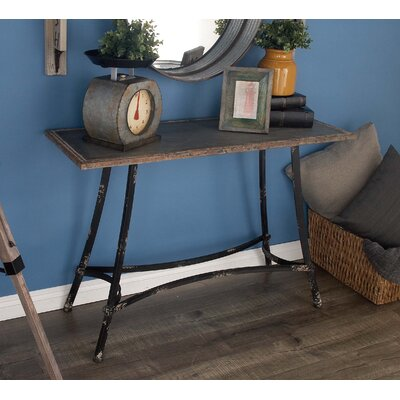 Cole & Grey Metal Console Table