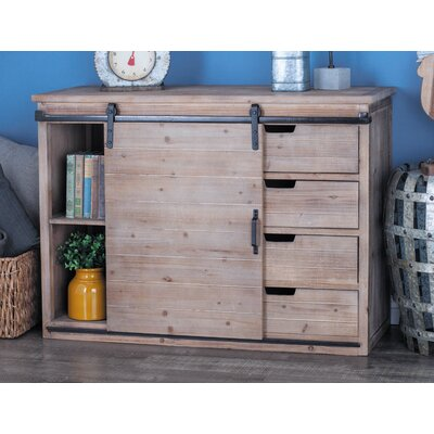 4 Drawer 1 Door Accent Cabinet