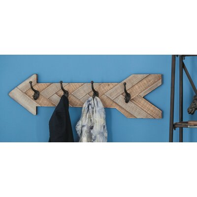 Arrow Wall Mounted Coat Rack