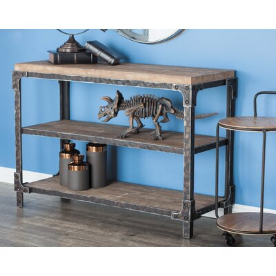 Cole & Grey Wood Console Table
