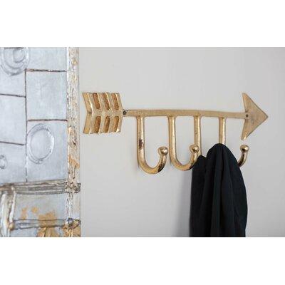 Aluminum Wall Mounted Coat Rack