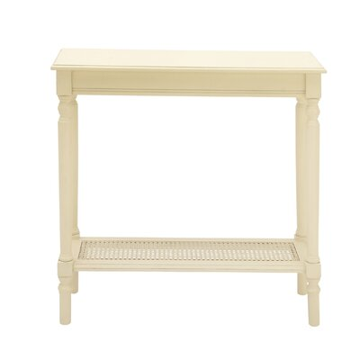 Console Table Color: Cream