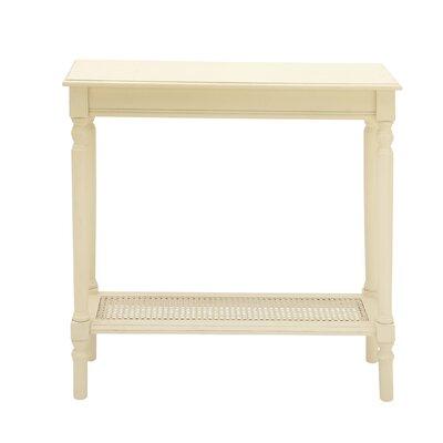 Console Table Color: Cream