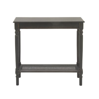 Console Table Color: Antique Black