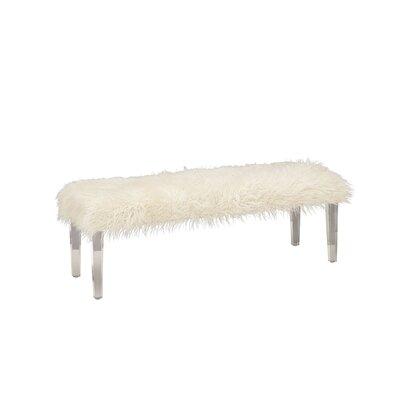 Acrylic Wood Bench