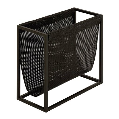Cole & Grey Metal Magazine Rack