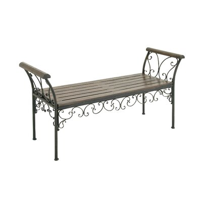 Wood Metal Bench