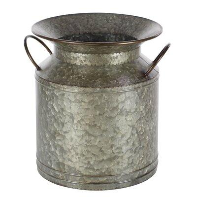 2-Piece Iron Pot Planter Set