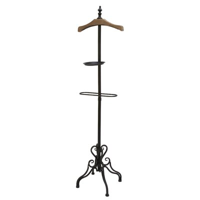 Metal Wood Coat Rack