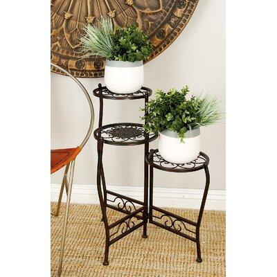Metal Multi-Tiered Plant Stand