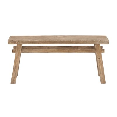 Cole & Grey Wooden Bench