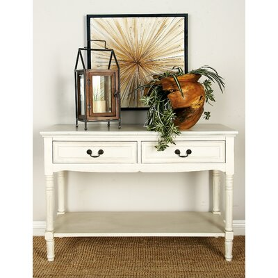 Console Table Color: Off White