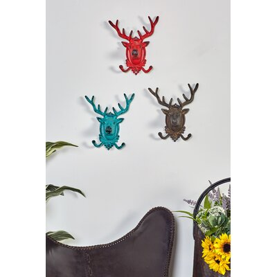 Metal Deer Wall Hook