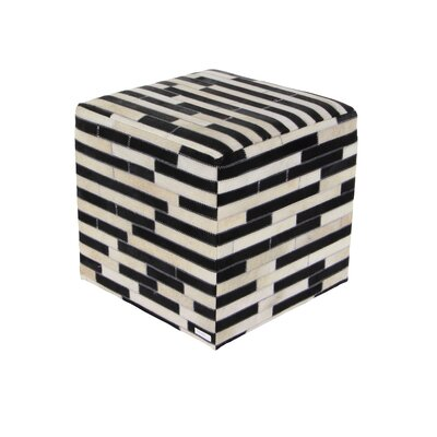Cole & Grey Square Accent Stool