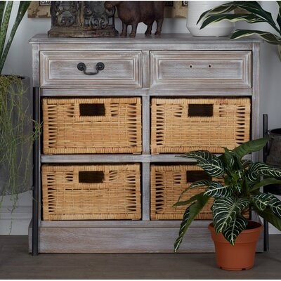 2 Drawer Accent Chest Color: Gray