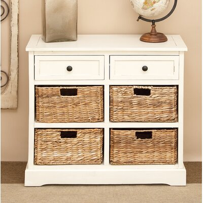 Beverly 2 Drawer Chest Color: White