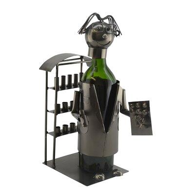Pharmacist 1 Bottle Tabletop Wine Rack