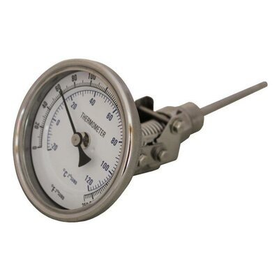 Swivel Brew Kettle Mash Tun Dial Thermometer