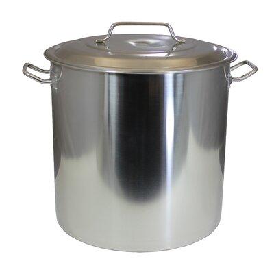 Stock Pot with Lid Size: 180 Quart