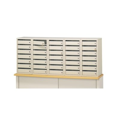 35 Door Front Load 4C Horizontal Mail Center Lock Type: Thumb Turn