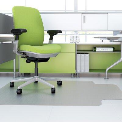 """EnvironMat Hard Floor Chair Mat Size: 0.63"""" H x 36"""" W x 48"""" D"""