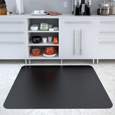 "EconoMat Hard Floor Straight Edge Chair Mat Size: 0.095"" H x 36"" W x 48"" D"