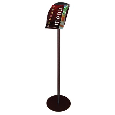 Literature Tray Floor Display Stand