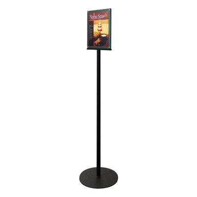 Double-Sided Magnetic Sign Display Stand