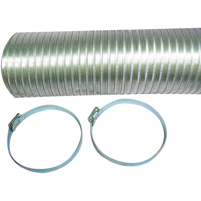 Semi-rigid Flexible Aluminum Dryer Duct