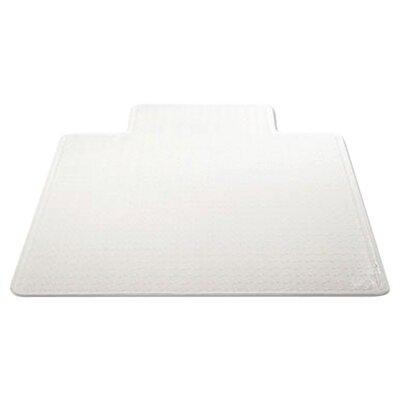 "Low Pile Carpet Beveled Edge Chair Mat Size: 36"" W x 48"" D"