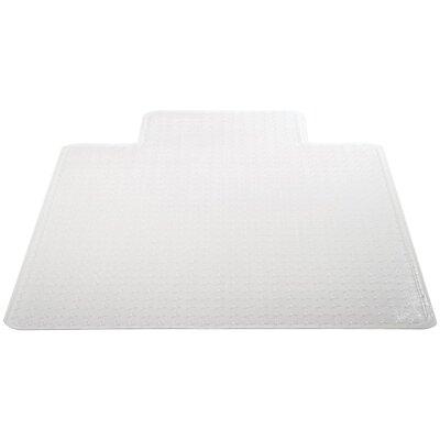 "Medium Pile Carpet Beveled Edge Chair Mat Size: 36"" W x 48"" D"
